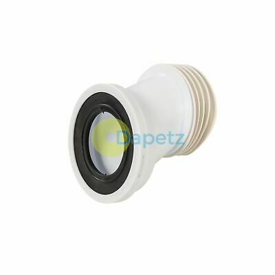 110mm Offset Pan Connector Strong Polypropylene Construction 40mm Offset