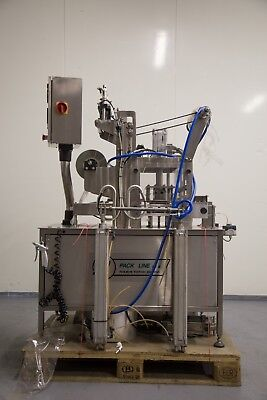 Packline PAO-2 Tray Sealer for sealing pots of foods or similar