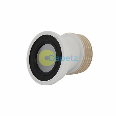 110mm Offset Pan Connector Strong Polypropylene Construction 20mm Offset
