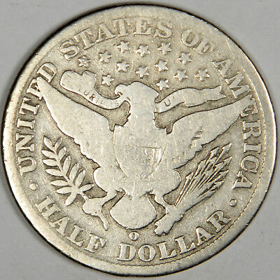 1906-O Barber Half Dollar ~ Solid Good ~ Priced Right! (Inv#21)