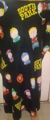 South Park Snuggie Adult Size Blanket With Sleeves Kyle Kenny Stan Butters RARE