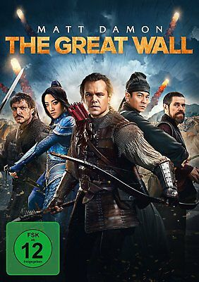 The Great Wall (2017) DVD - NEU/OVP