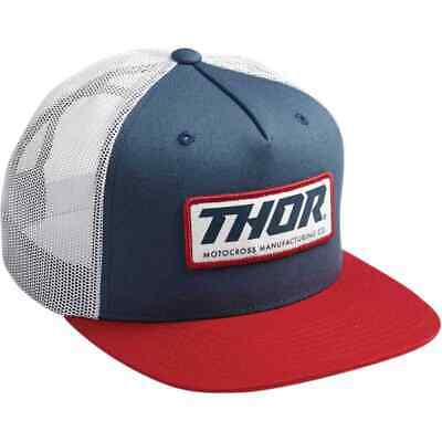2019 THOR MX MENS FOREVER SNAPBACK HATS BLACK CHARCOAL