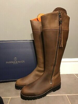 a10ded6d3f06 FAIRFAX AND FAVOR Imperial Explorer Sporting Fit Oak Size 7 Ladies Country  Boot - EUR 455