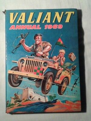 Valiant boys action comic Annual 1969 (hardback)