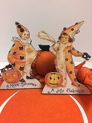 Bethany Lowe Halloween Children(Clowning Around) Dummy Boards:RL6583(Set of 2)