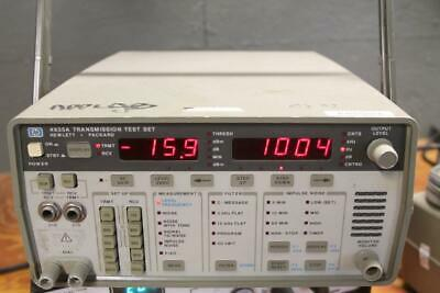 HP 4935A Transmission Test Set, Option 3  NICE USED CONDITION