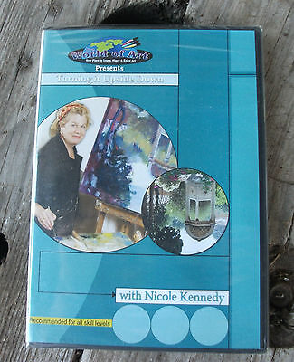 Painting DVD Turning it Upside down with Nicole Kennedy  NEW ART INSTRUCTION