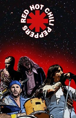 Red Hot Chilli Peppers sticker x1