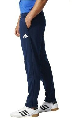 Mens New Adidas Tiro Slim Fit Tracksuit Jogging Bottoms Joggers Track Pants Blue