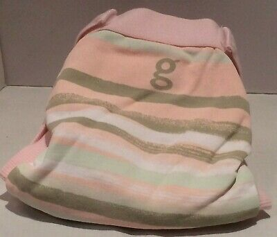 New Gdiapers Small, Pink Gee I Love The Sea Gpants & Pouch