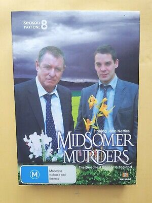 Midsomer Murders : Season 8 : Part 1 [ 2 DVD Box Set ] Region 4, FREE Fast Post