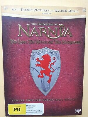 The Chronicles Of Narnia [ 2 DVD Box Set + Map & Postcards ] Region 4, Fast Post