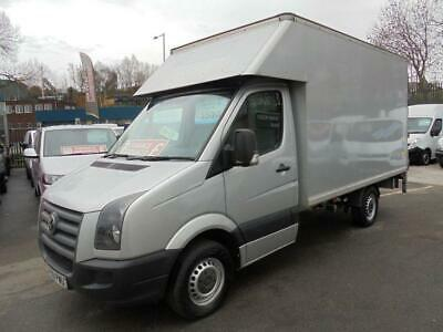 2009 09 Volkswagen Crafter 2.5 Turbo Diesel  Luton With Alloy Tail Lift  Metalli
