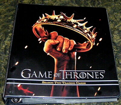 2013 Game Of Thrones Mini Master Set Cards And Binder