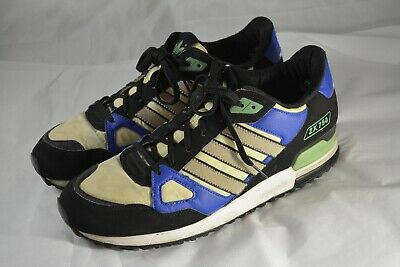 3662222d2 Mens ADIDAS Originals ZX 750 Blue White Trainers Sneakers Shoes Size 11 US  45 FR