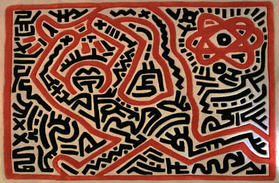 Keith Haring Carpet 1, limited edition rug, Basquiat, Warhol, Koons, decoration
