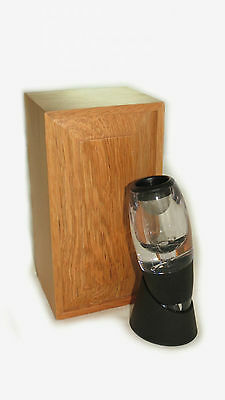 Wine Aerator in presentation Timber Box Includes aerator Stand - gift