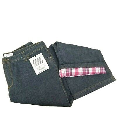 78469886 GUIDE SERIES FLANNEL Lined Jeans Womens Size 16 - $29.99 | PicClick
