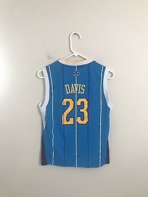 5f10f6352 New Orleans Pelicans Anthony Davis Official NBA Adidas Youth Jersey Size  Medium