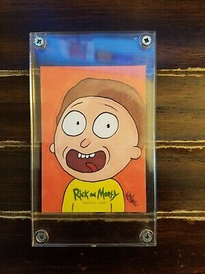 2018 Cryptozoic Rick and Morty Season 1 SKetch Card - HOWIE NOEL