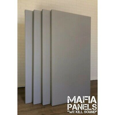 4x Acoustic Panels- Only £35 Per Large Rockwool Panel - UK's Best Price 🇬🇧.