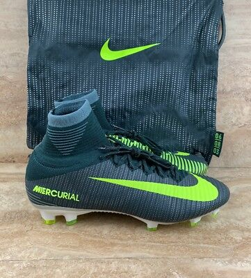 free shipping d837e 69bf6 NIKE MERCURIAL SUPERFLY V CR7 FG Ronaldo Men's Soccer Cleats SeaWeed Green