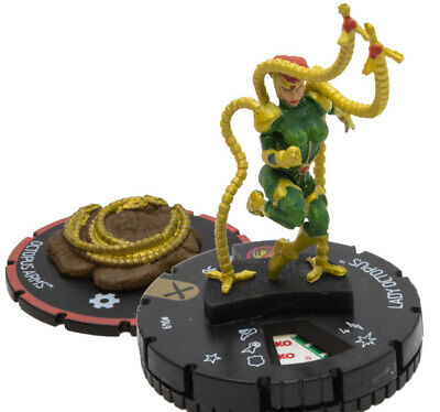 Lady Octopus - (049) w/Octopus Arms (s004) Marvel HeroClix M/NM with Card Earth
