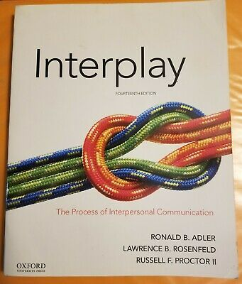 Interplay: The Process of Interpersonal Communication 14th Edition EB00K