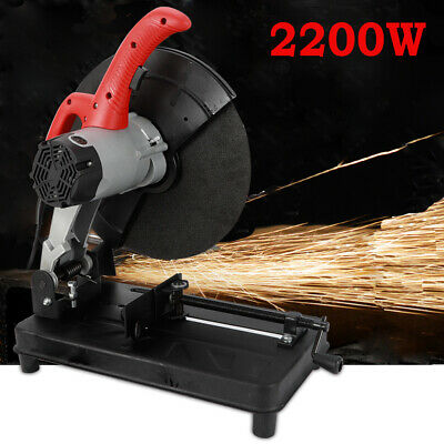 """14"""" Abrasive Chop Saw Increased Productivity Quick Adjust Vise Red Motor/Guard"""
