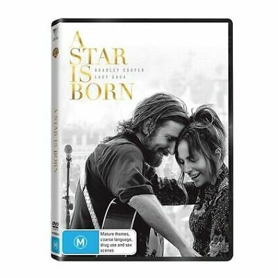 A Star Is Born : NEW DVD : 2019 : Australian Stock :