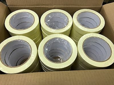 MASKING TAPE INDOOR OUTDOOR DIY PAINTING DECORATING EASY TEAR 24MM x 50M 48 ROLL
