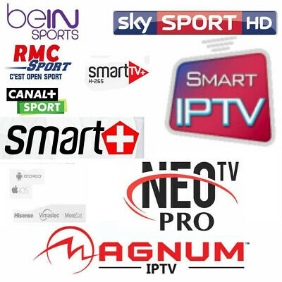 SIX (6) MONTHS IPTV Subscription Full HD (MAG - IOS