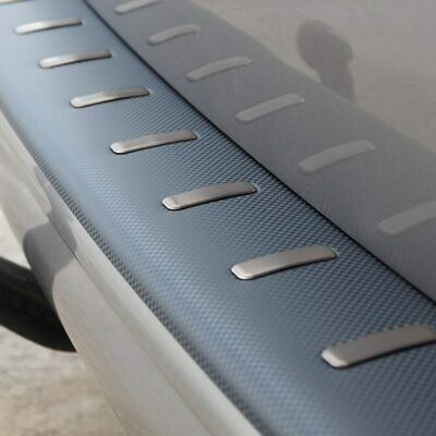 VW T5, T5.1 Rear Bumper Protector Carbon Fibre Film