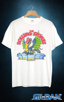 a02ad50d ROLLING STONES 1981 Tour Concert T Shirt White Graphic Tee - $22.95 ...