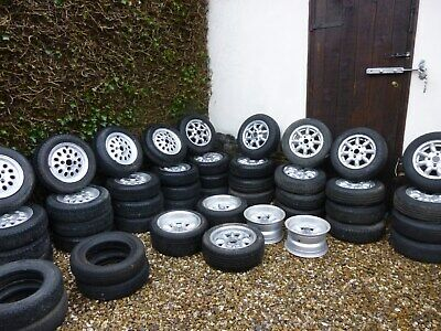 Classic Mini Wheels For Sale 14 Sets of Wheels plus other sets of tyres.