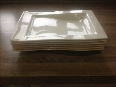 Villeroy Boch Large Rectangle Dinner Plate (12 Available)
