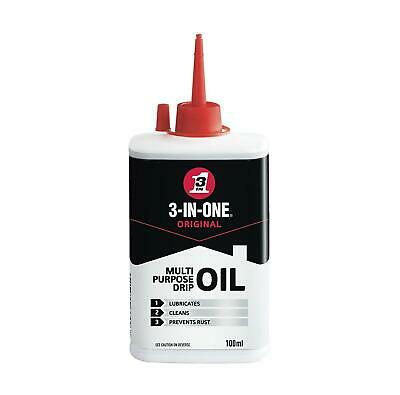 Quality 3 In 1 Standard Lubricating Multi Purpose Oil - Cleans & Prevents Rust