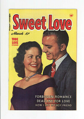 Sweet Love #4 - Nm 9.4 - 1950 - Very Rare, None On Cgc Census - Fantastic Cover