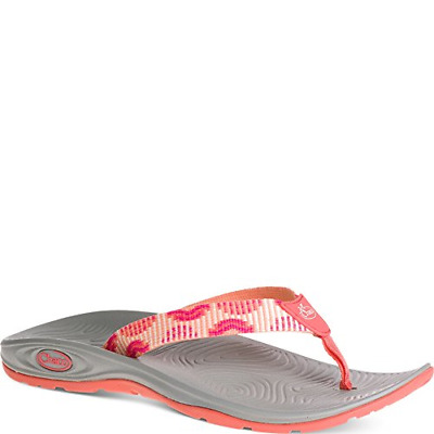 aa16f888c CHACO Z VOLV FLIP EcoTread Lily Pad Flip Flop Sandals Women s US 7 ...