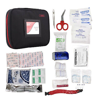 First aid kit Supplies Emergency Medical Survival Bag Survival Travel Home Car