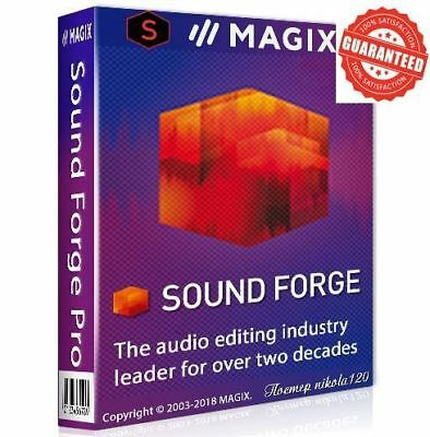 MAGIX SOUND FORGE PRO 12 LATEST VERSION x64 Instant Download. 2018