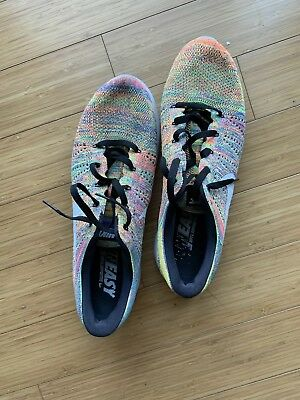"f29d69d3aceb NIKE ROSHE RUN NM Flyknit ""Multicolor"" Pre Owned Mens Size 14 ..."