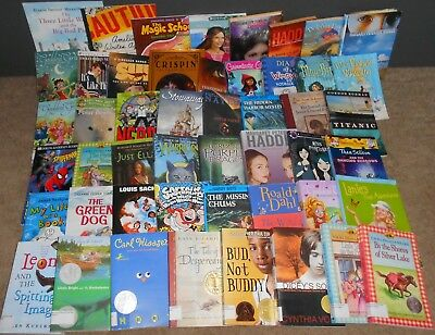 40 AR Accelerated Reader Books Levels 4.0 - 4.4  *YOU PICK THE TITLES!*