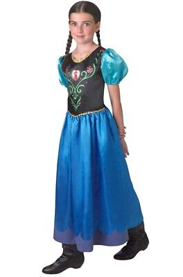 Rubie's Official Disney Frozen Classic Anna Costume Large 9-10 Years Girls