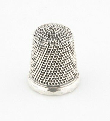 Vintage Sterling Silver Thimble 5.0 grams 21 mm Long Great Condition