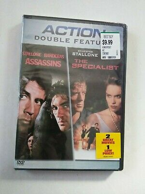 Assassins/The Specialist DBL Feature DVD 2006 Brand NEW!