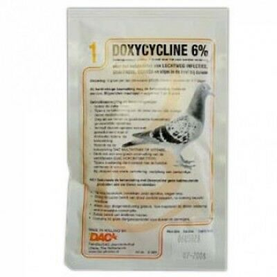 Pigeon Product - Doxycycline 6% by DAC - Racing Pigeons