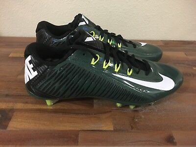 6395ef752b Nike Vapor Carbon Elite 2 TD Football Cleats Green Black 657441-301 Men Sz