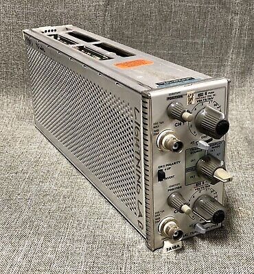 Tektronix 7A18A Dual Trace Amplifier Plug In For 7000 Series Oscilloscopes
